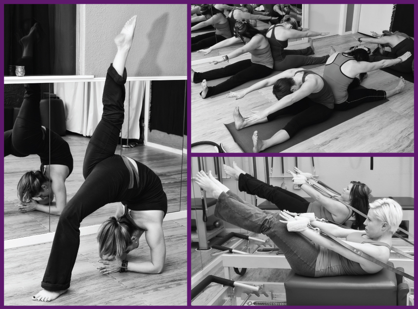 Pilates Collage